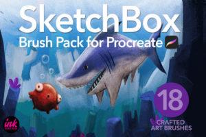 SketchBox Brushes for Procreate