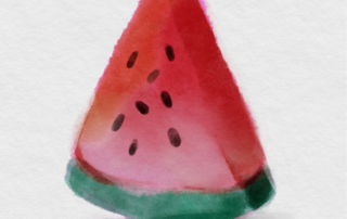 Easy Procreate Watercolor with Free Procreate Brushes Title Image