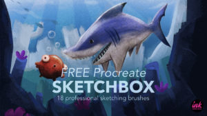 Free SketchBox Brush Pack for Procreate