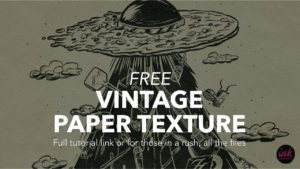 Free Vintage Paper Texture for Procreate