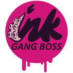 Ink Gang Boss Logo