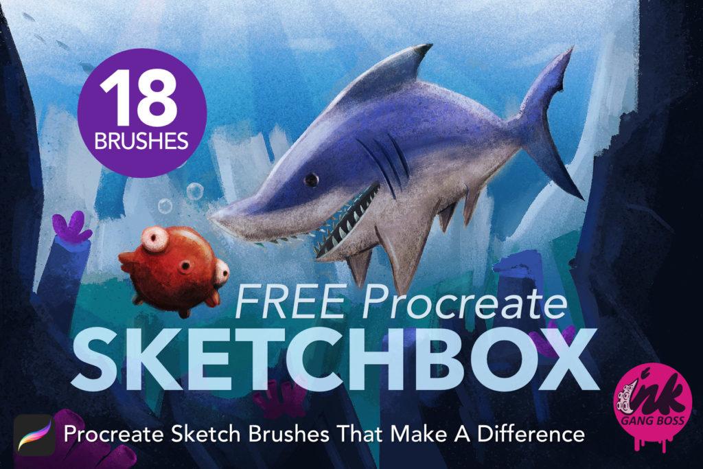 SketchBox Brush Pack: Procreate Brushes & Tools
