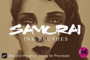 Samurai Inks For Procreate Cover Image